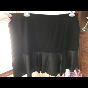 cabi Black Mini Skirt - Size XL - NWOT